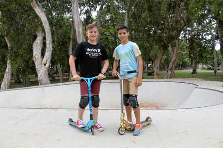 Flynn Bushell and Ethan Laval, 12, have both been advocating for a skate park in the region. Ethan's mother, Tammy Laval, said the boys are ecstatic about the announcement of a $2 million skate park for the region.