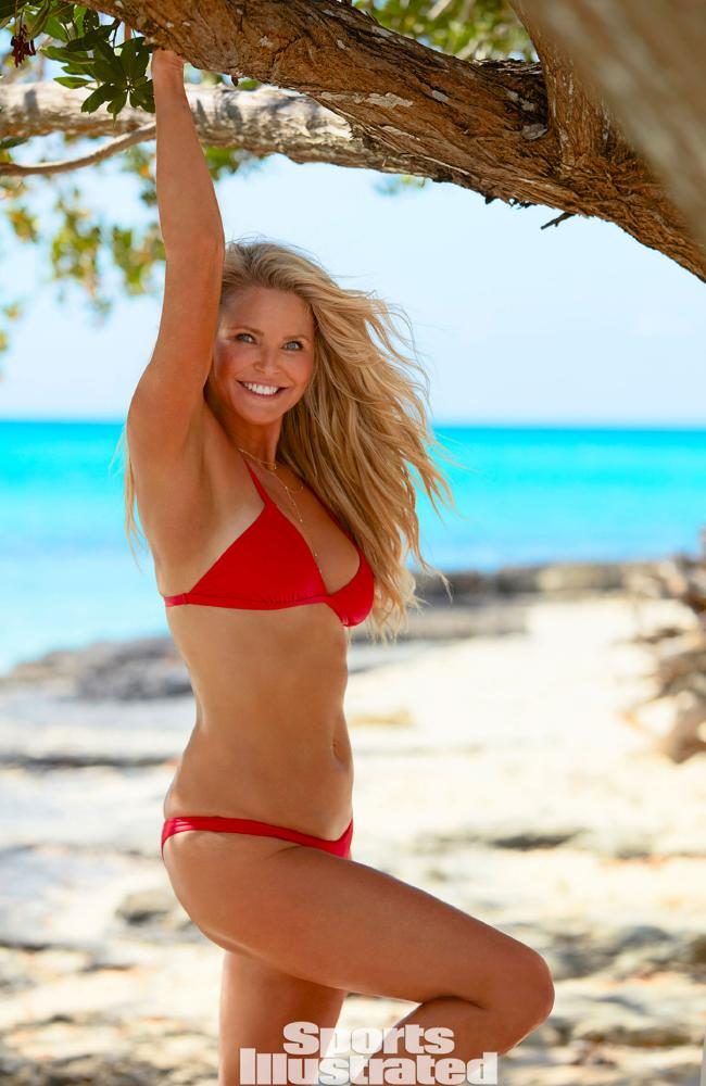 Christie Brinkley as she appears in this year's Sports Illustrated Swimsuit issue. Picture: Emmanuel Hauguel/SI. Source:Supplied