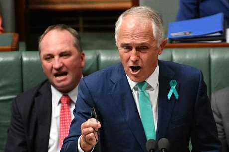 Malcolm Turnbull fires up... finally
