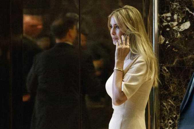Ivanka Trump, daughter of President Donald Trump, arrives at Trump Tower in New York. (AP Photo/ Evan Vucci, File)
