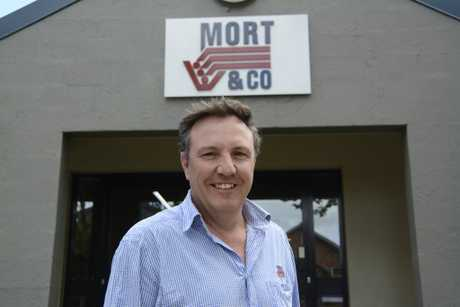 EXPANSION: Toowoomba-based feedlot company Mort and Co will be expanding its Grassdale property if it gets approval from the council, much to the delight of general manager Scott Braund.