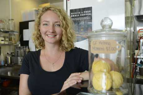 Bianca Fisher works at Urth Cafe in Hume St.