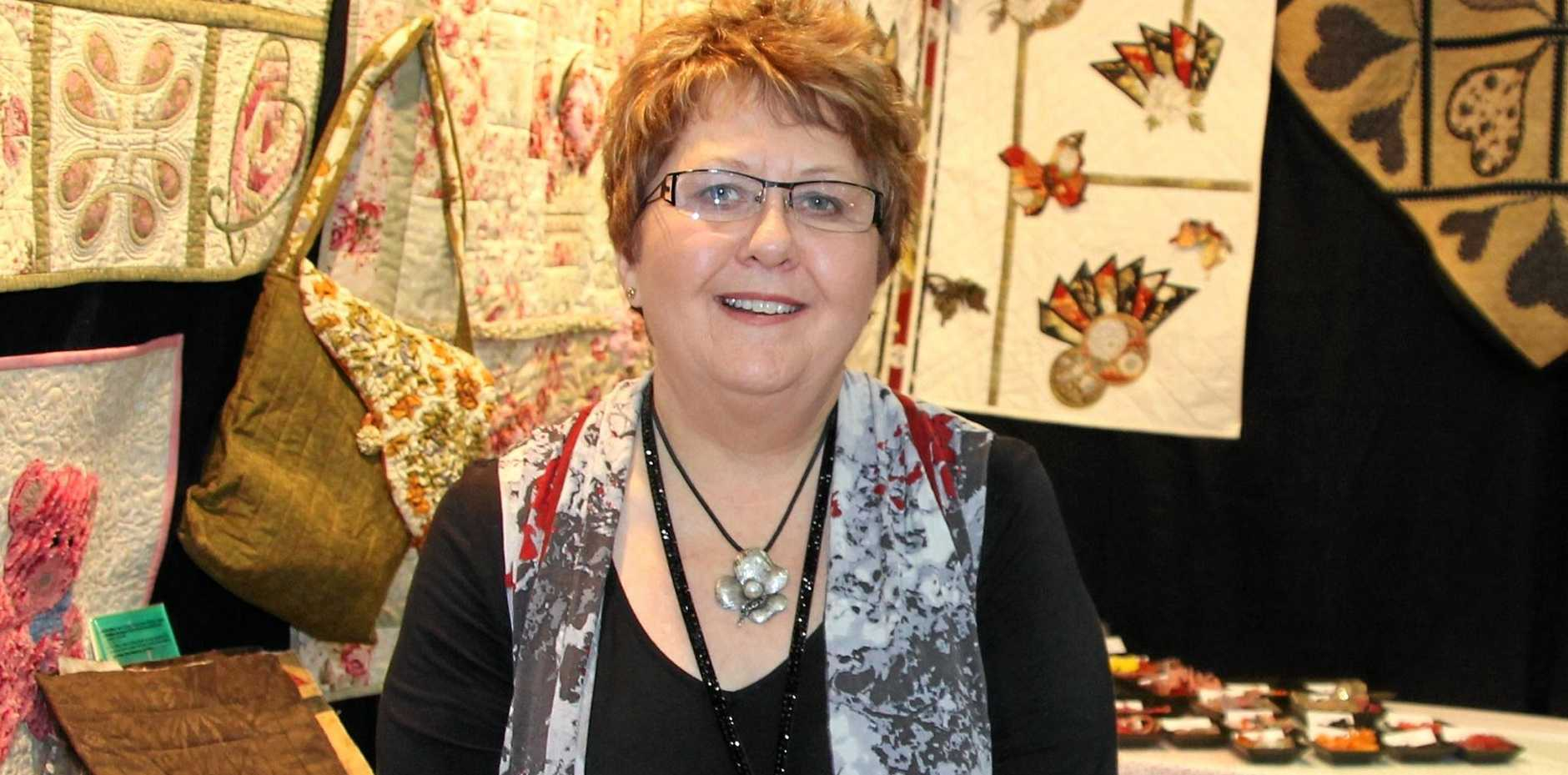 QUILTING JOURNEY: Pauline Rogers has taken her unique quilting methods, her new book and self-designed tools to the world.