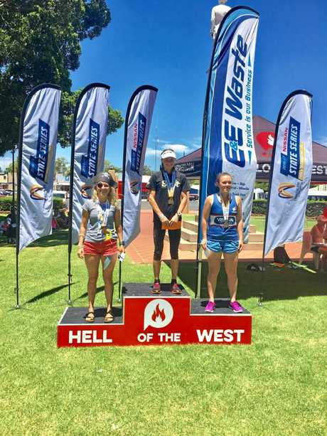 Celia Sullohern finished first in the women 20-24 year category at the Hell of the West which doubled as the 2017 Australian Long Course Championships at Goondiwindi on Sunday, 5th February, 2017.