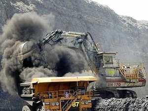Mining job frustration