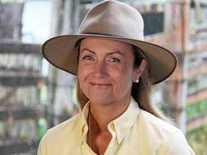 ABC Landline presenter at Gympie farmer event