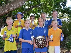 Nine records set at Warwick West State School swimming