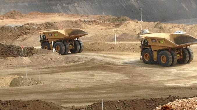 BHP Billiton Mitsubishi Alliance's Daunia mine in Central Queensland.