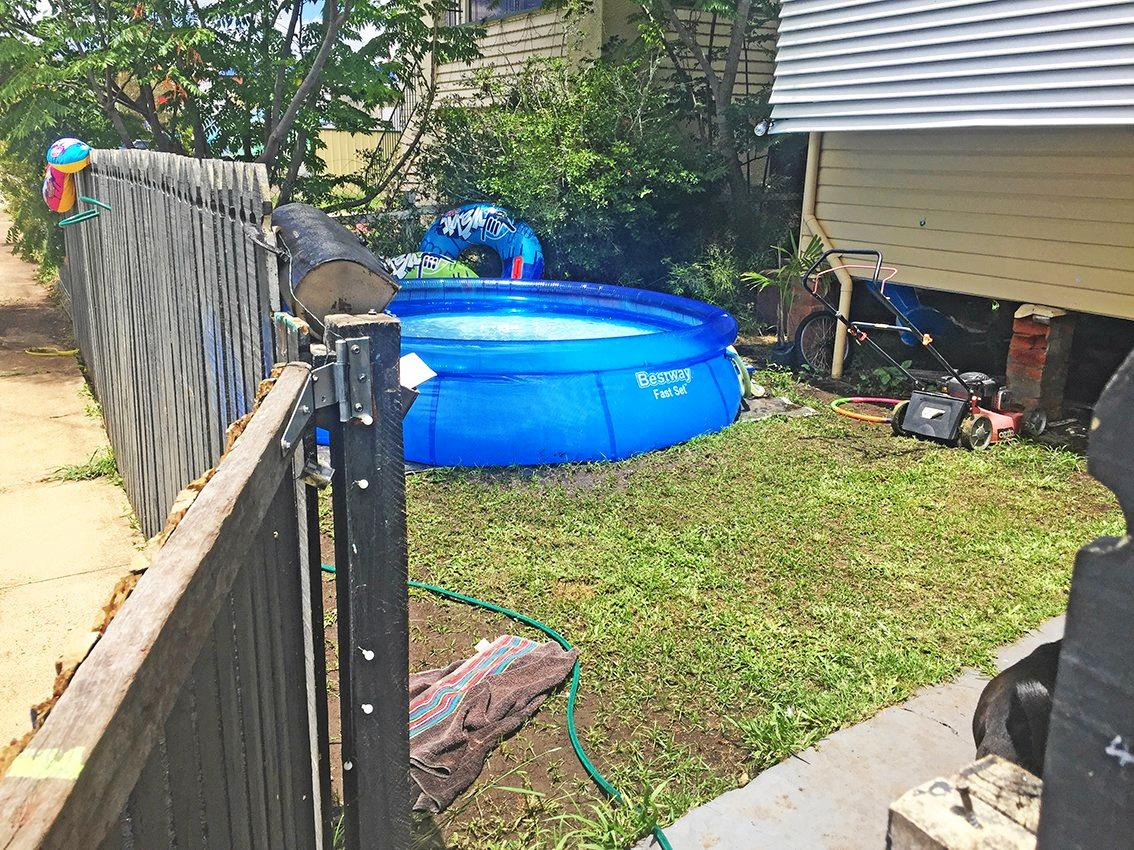 Lismore City Council are asking residents to be aware of safety rules surrounding portable pools. Photo: Lismore City Council