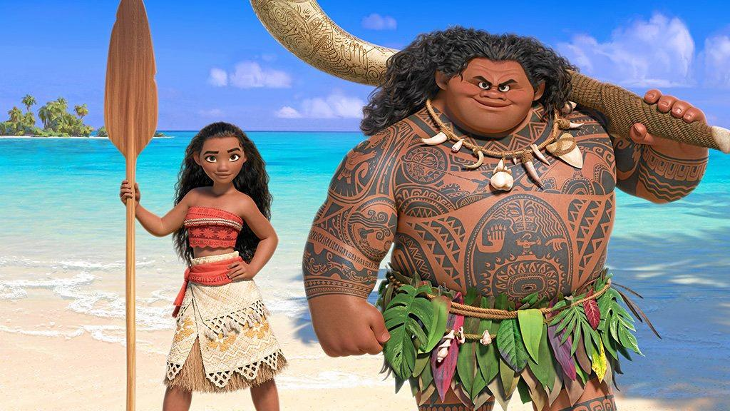 Moana is one of the movies showing this weekend that can help you escape the heat.