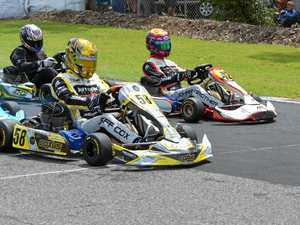 The heat will be on track for karts drivers