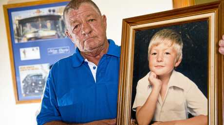 Tony Holland's son Dallas was killed while securing his load on the Logan Mwy.