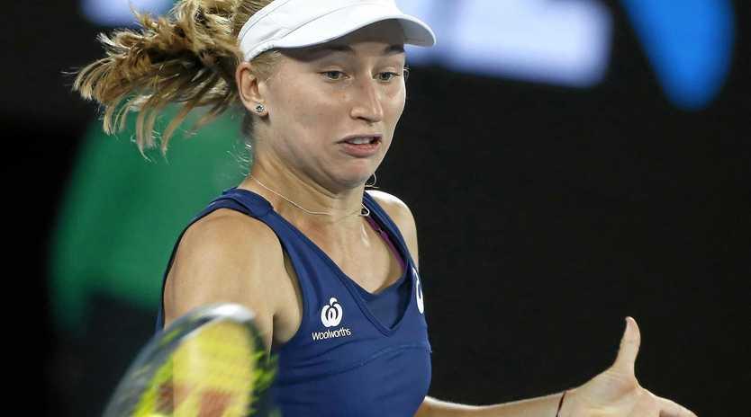 Daria Gavrilova will lead the Australian team in the Fed Cup in Ukraine.