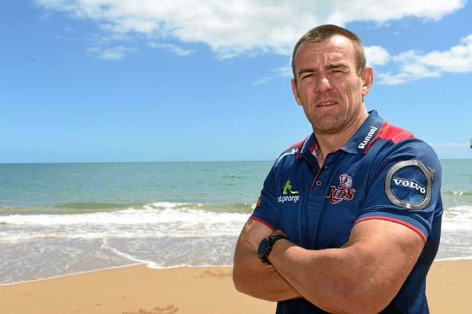 LIVING LEGEND: Queensland Reds and Wallabies legend Chris Latham will return to the field for the Brisbane Global Tens this weekend.