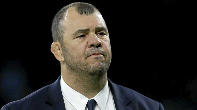 HAPPY COACH: Michael Cheika is pleased with the off-season progress of Australia's five Super Rugby sides.