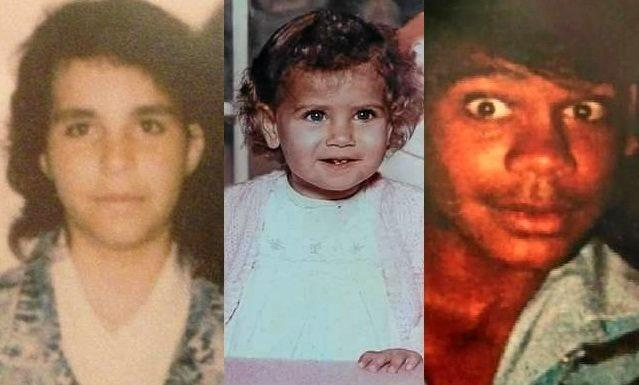 Bowraville victims Colleen Walker-Craig, Evelyn Greenup and Clinton Speedy-Duroux.