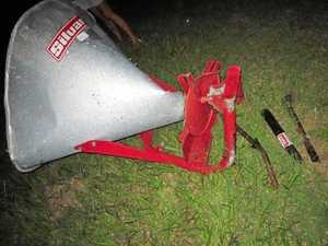 Police seek public help to find owner of farm equipment