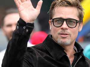 The Coast product on Brad Pitt's lips before Jolie split