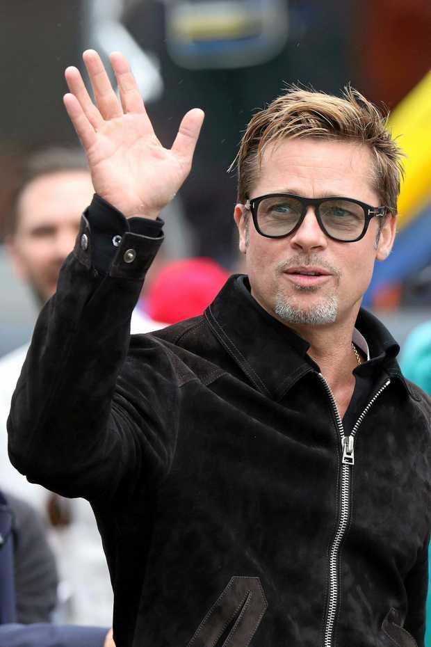 US actor Brad Pitt in June 2016.