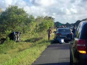 Head-on collision on Sunshine Coast motorway