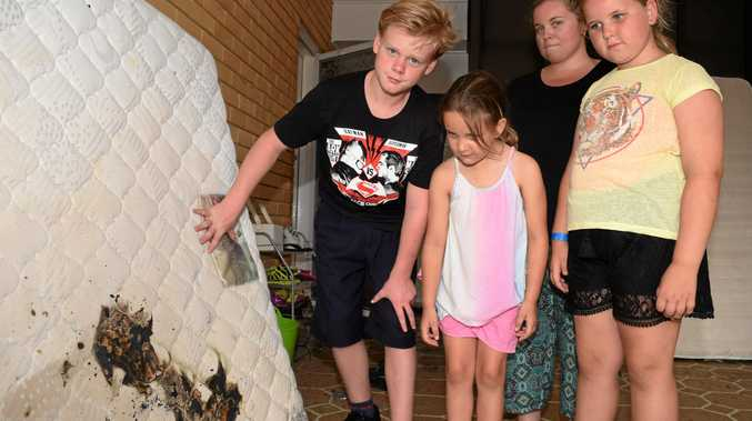 WARNING CALL: Jonah, Ruby and Charlie now follow Emma Blackburn's (back) advice of not leaving chargers on beds after one caused a house fire.