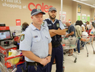 Police have repeatedly intervened in the self-serve checkout saga meaning taxpayer funds have been spent on bettering Coles' and Woolworths' bottom lines.