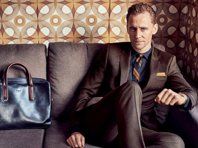 Tom Hiddleston's shoot for GQ.