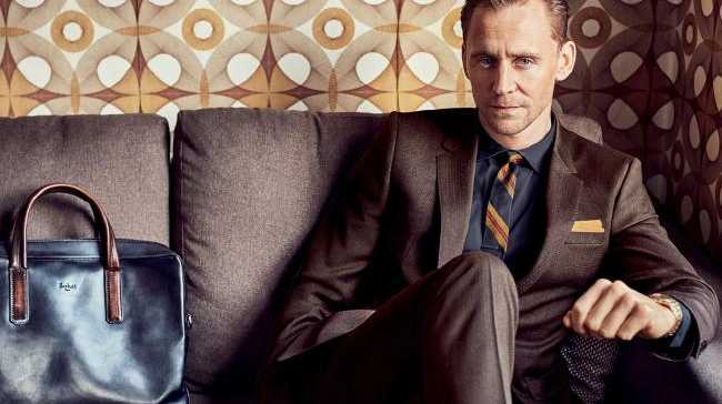 Tom Hiddleston's shoot for GQ.