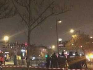 Paris train station 'explosion'