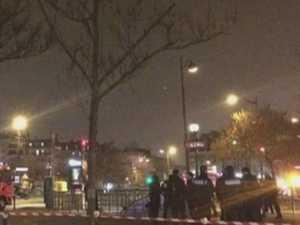 Paris train station 'explosion'