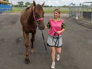 Fleur Blanch on training horses in Grafton