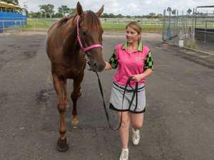 Fleur Blanch on training horses in Grafton