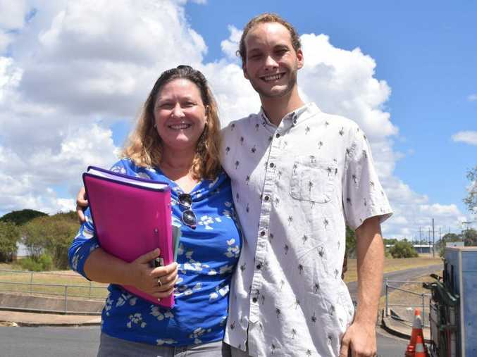 BRIGHT FUTURE: Brooweena mum Tina Greenhalgh now has less of a worry about her son Kurtis moving away to get work, after he applied for the Teebar Clean Energy construction project. She hopes he gets the job.