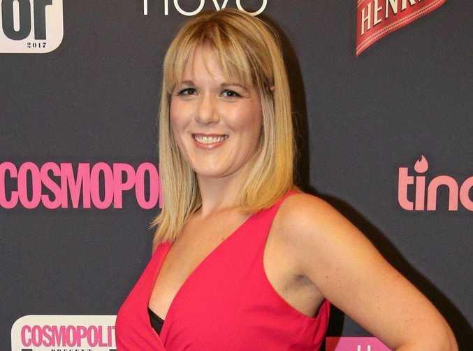 Journalist Sarah Swain.