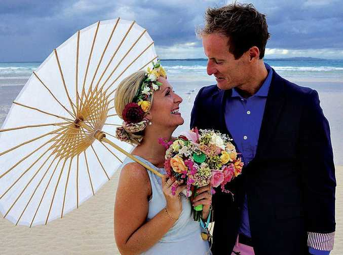 Zoe and Jac Stanton married last year after meeting online.