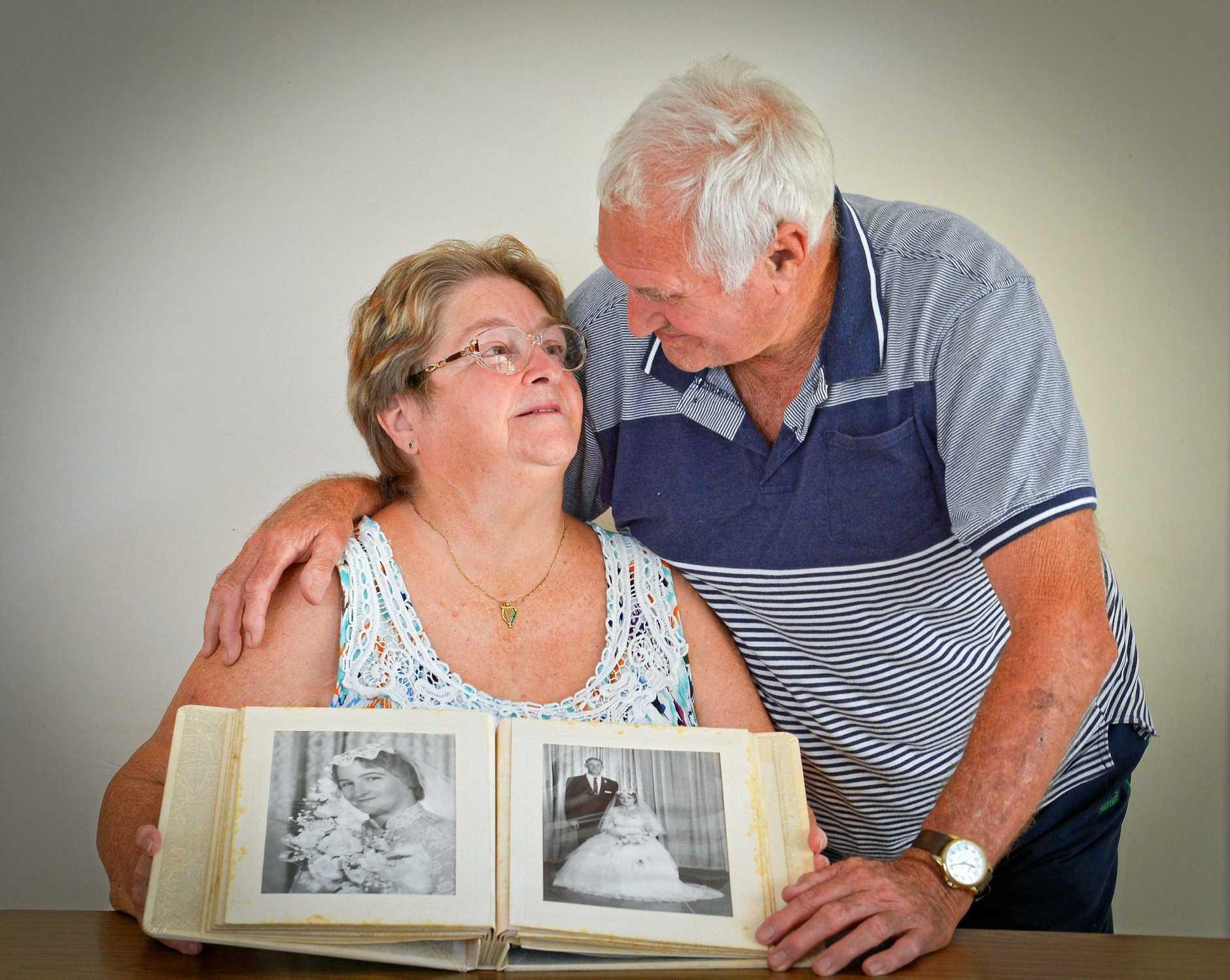Eileen and Jim Smith celebrate their wedding anniversary.
