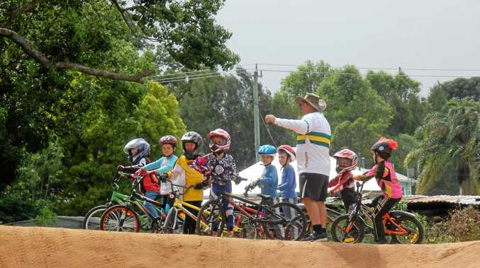 RIGHT ADVICE: Coaching will be available for prospective riders at the BMX Come and Try day next weekend.