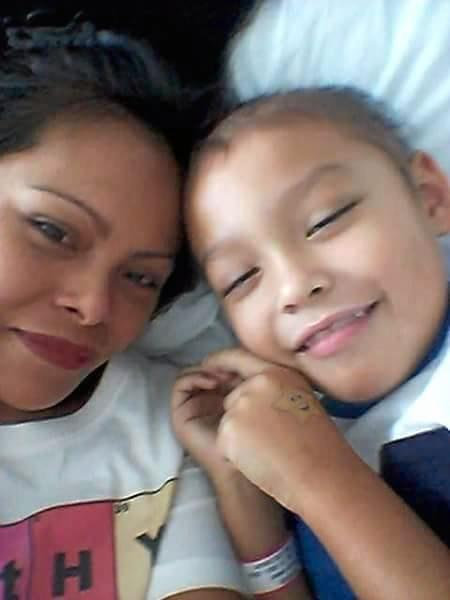 Fighter: Micah Murdoch, 6, is fighting leukemia for the second time, but he desperately needs a bone marrow transplant.