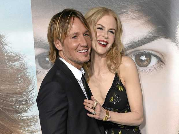 Keith Urban, left, and Nicole Kidman.