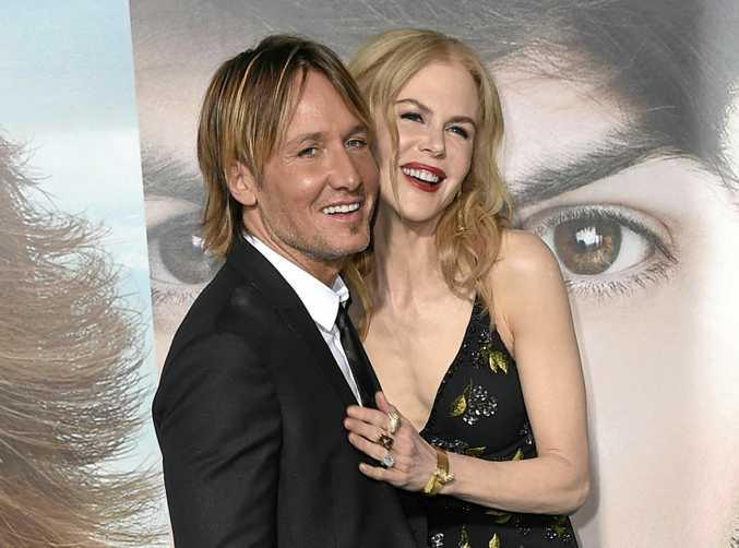 Keith Urban, left, and Nicole Kidman.