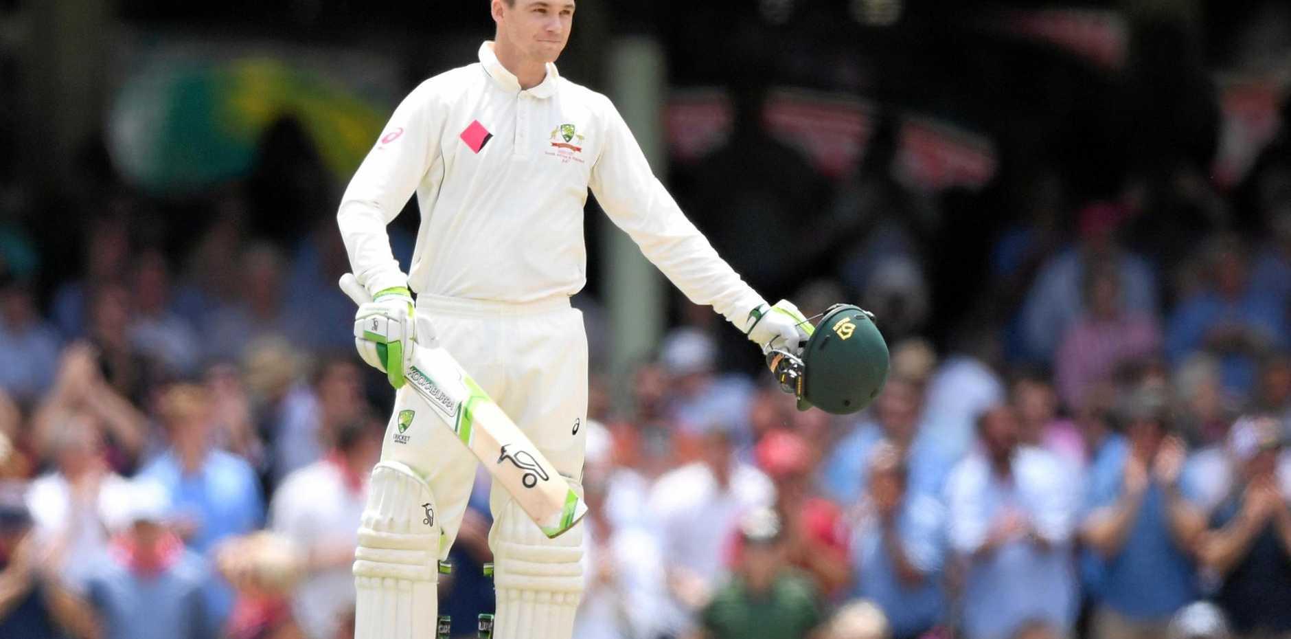 Peter Handscomb has been a form player for Australia.