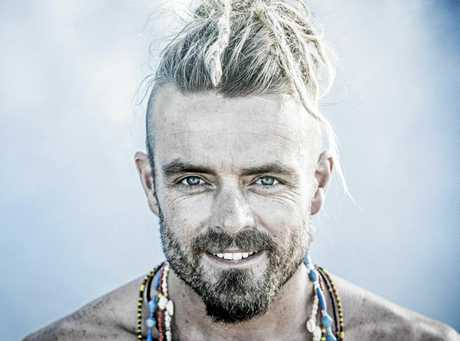 Singer songwriter Xavier Rudd.