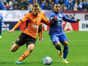 Chinese club left red-faced by Roar defeat