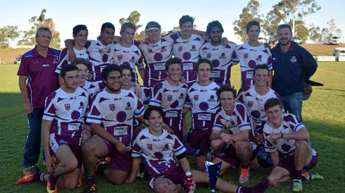 WINNERS ARE GRINNERS: 2016 was a strong season for the Dalby Devils.