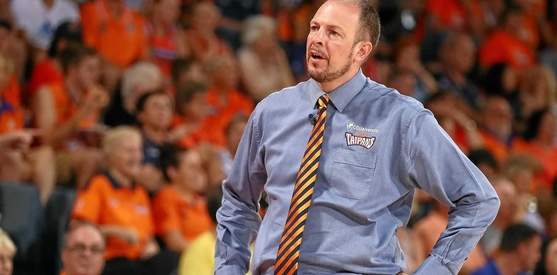 Taipans coach Aaron Fearne.