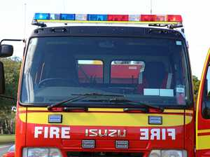 Bushfire threatens homes near Mount Perry