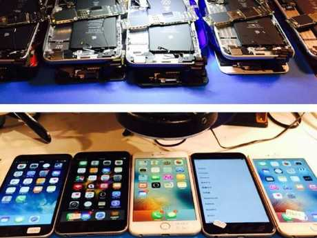 Instagram user iPhone rehab is routinely inundated with iPhones needed to be repaired.