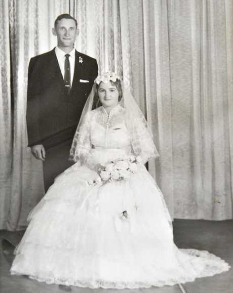 Eileen and Jim Smith celebrated their 55th wedding anniversary on the weekend.