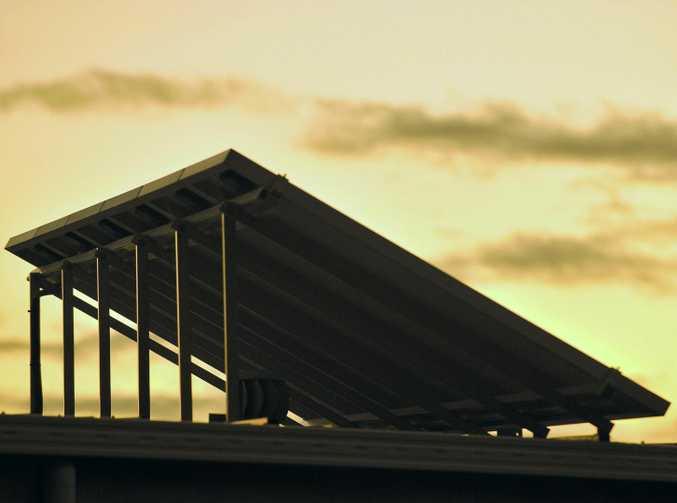 solar panel. Photo: Trevor Veale /  The Coffs Coast Advocate.