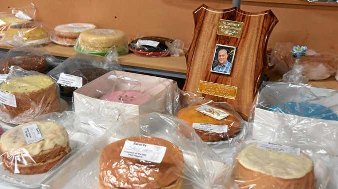 SWEET SENTIMENT: 66 sponge cakes were baked in memory of Phill Higgins.